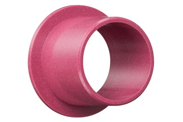 iglidur® C500, sleeve bearing with flange, mm