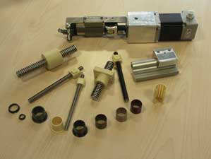 polymer linear bearings from the construction kit