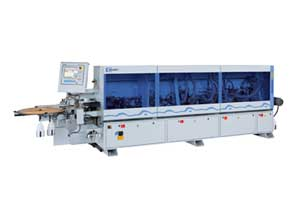 View of an edge-gluing machine of the Ambition 1600 series,