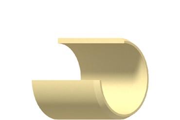 Estrutura das buchas autolubrificantes de polímero iglidur®